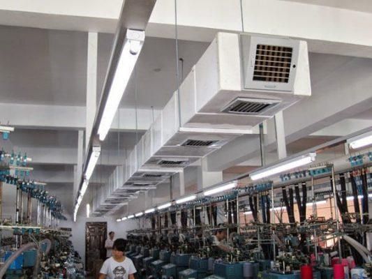 lam mat xuong det 2 1 min 533x400 - Lắp đặt thi công máy lạnh nhà xưởng