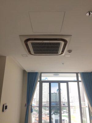 thi cong may lnh vinhomes min 300x400 - Lắp đặt thi công máy lạnh âm trần