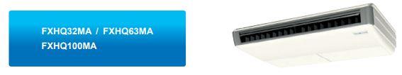 MInh họa 5 - Máy lạnh trung tâm VRV IV S Daikin  Loại áp trần FXHQ-MA