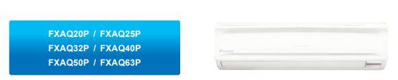 Treo tường - Máy lạnh trung tâm VRV IV S Daikin  Loại treo tường FXAQ-P
