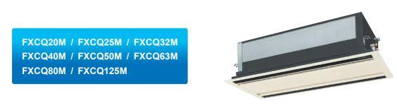 casset 2 hướng thổi - Máy lạnh trung tâm VRV IV S Daikin Cassette âm trần ( 2 hướng thổi)FXCQ-AVM