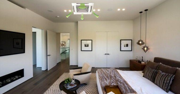 Điều hòa âm trần cho căn hộ chung cư 3 phòng ngủ